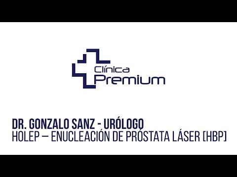 revisión de video de cirugía láser de próstata