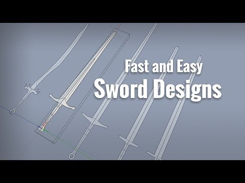 Sword Designs - Fast and Easy