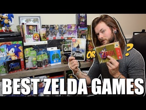 Top 5 Best Zelda Games, Ever.