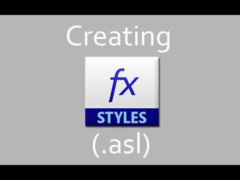 Photoshop Tutorials | Creating A Style(.asl)