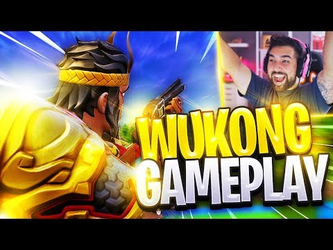 "*NEW* LEGENDARY ""WUKONG GAMEPLAY"" - Fortnite: Battle Royale"