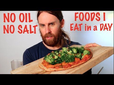 What I EAT in a Day on NO OIL NO SALT Diet (VEGAN)