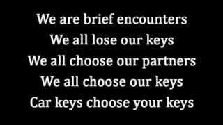 Franz Ferdinand - Brief encounters (Lyrics)