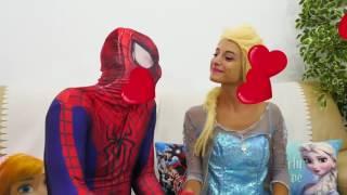 человек паук и эльза