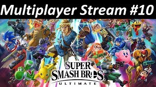 Kratos Streams Super Smash Bros Ultimate Multiplayer Part 10: Wasting Everyone's Time!