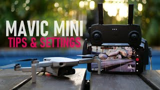 DJI Mavic Mini - Best Tips & Settings To Improve Your Overall Flight Experience | DansTube.TV