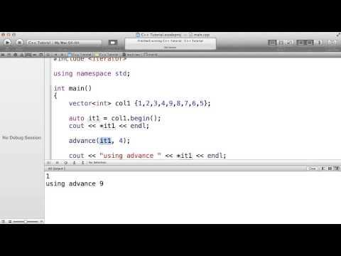 C++ - iterator helper functions