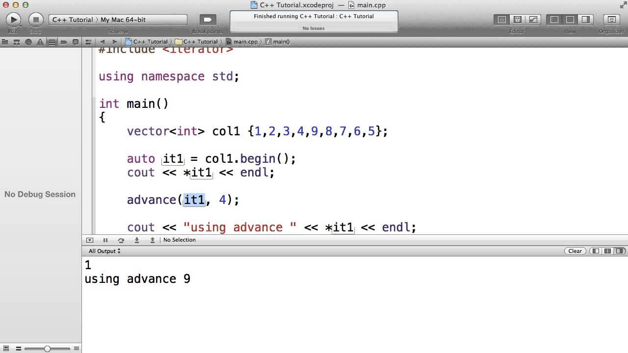 C++ Iterator