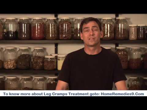 Leg Cramps Treatment -  Best Herbal Home Remedies For Leg Cramps