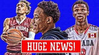 DEROZAN FOR WIGGINS TRADE! BULLS PROMISE TO DRAFT PLAYER! KNICKS LOVE TRAE YOUNG! | NBA NEWS thumbnail