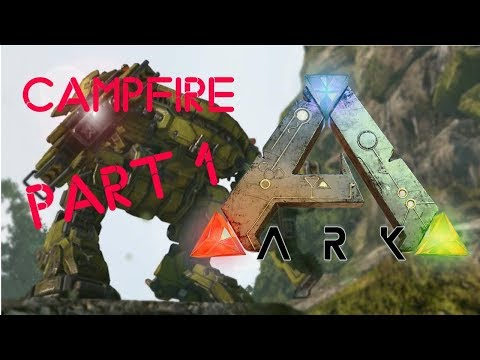 LEARNING CAMPFIRE BASICS | ARK: Survival Evolved - Part 1