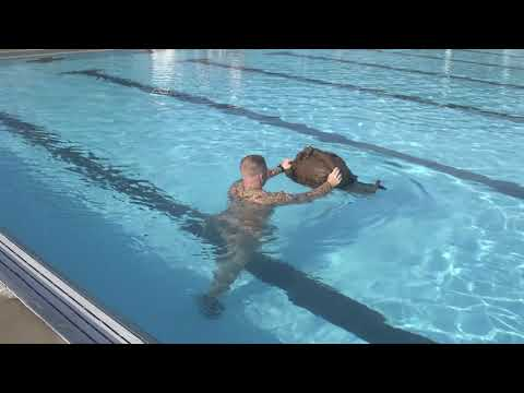 Employ Floatation Gear (WSI): Walk in Shallow Water Push or Tow Gear (#4)