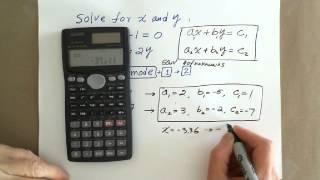 Scientific Calculator: Solving Systems of Linear Equations(Description., 2015-08-18T22:10:56.000Z)