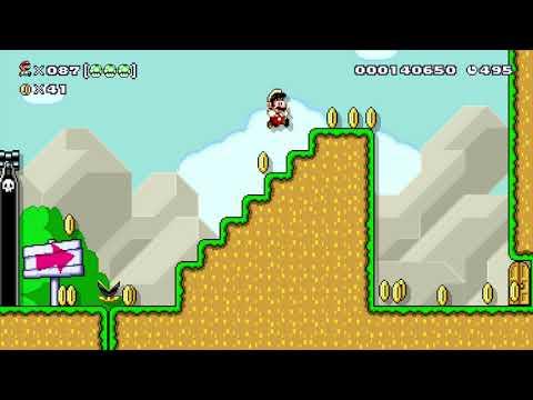 Super Mario Maker 100 Mario Challenge Super Expert No Skips 85