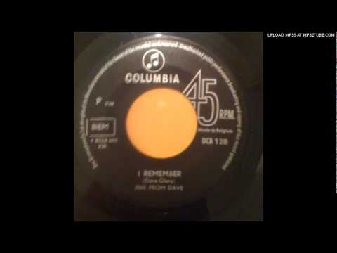 FIVE FROM DAVE'S SOUL SET- I REMEMBER [Columbia/Belgian Blue E
