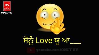 Love You (WhatsApp Status) - Sharry Mann | Latest Punjabi Song 2017 | Status By Only Rv