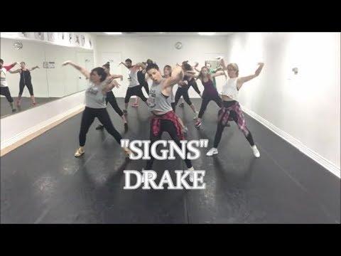 """SIGNS"" DRAKE  Hip Hop Fusion choreography Léa Robert"