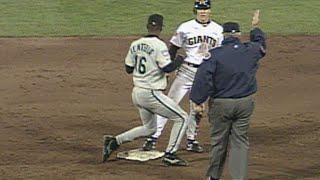 Marlins turn a clutch double play in Game 3 of the '97 NLDS