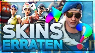 FORTNITE SKINS guess at 4 MERKMALEN! 💥😀 + SPECIAL | Fortnite Quiz Battle Royale