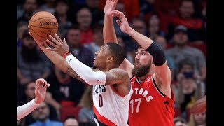 Toronto Raptors vs Portland Trail Blazers Full PS Highlights (10/5/2017)