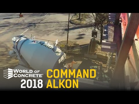 The Construction Channel - World of Concrete 2018 - Command Alkon