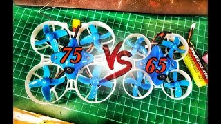 Beta FPV 65 vs 75 - 2S POWER WHOOPS