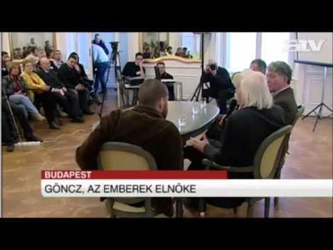 Göncz Árpád 90 éves - 2012.02.11. - ATV Híradó