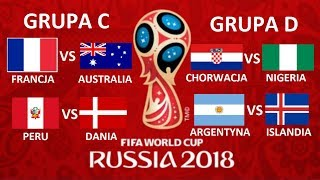 TURNIEJ PANINI WORLD CUP RUSSIA 2018 #2 - ARGENTYNA VS ISLANDIA,FRANCJA VS AUSTRALIA