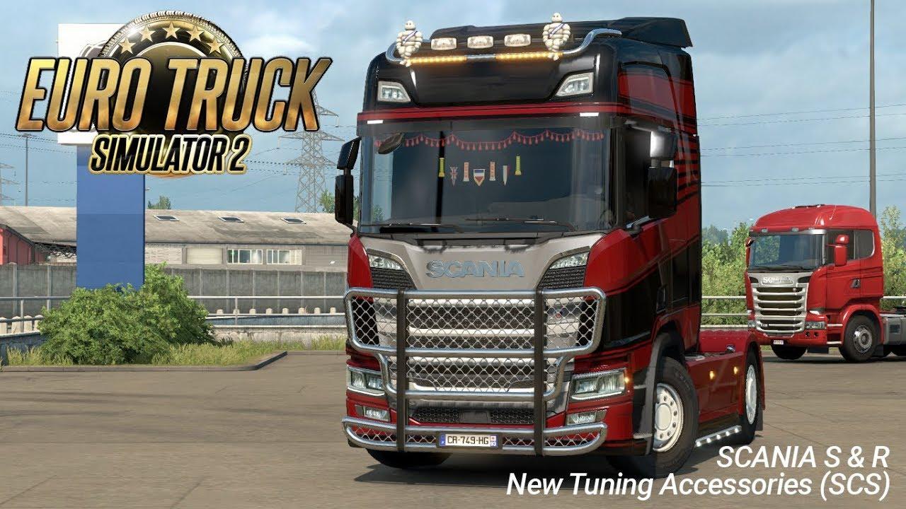 Euro Truck Simulator 2 - 1 30 Scania S & R Tuning