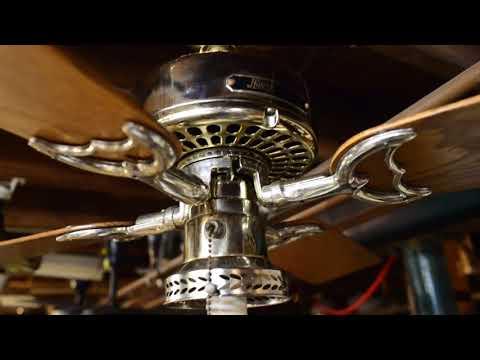 "Hunter/R&M Original Reverse-aire 38"" Ceiling Fan, Model 22290 (c. 1983)"