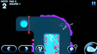 Super Stickman Golf 3 : -3 on Laser Sub hole 2! #ssg3
