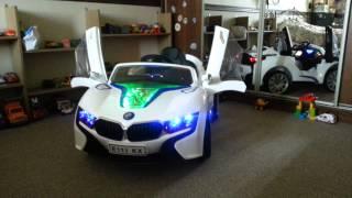 видео: Детский электромобиль BMW E111KX