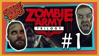 Zombie Army Trilogy Multiplayer Gameplay (Xbox One) - Popping Heads