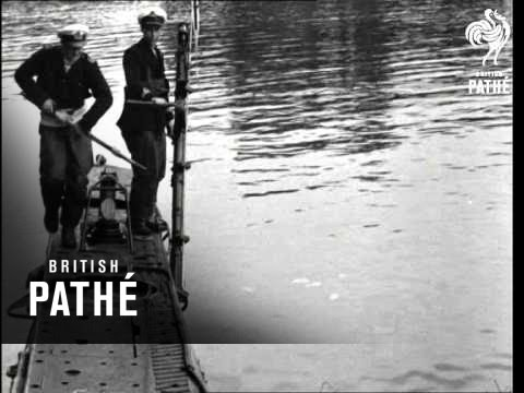 Selected Originals - Midget Submarine To Cross Atlantic (1950)