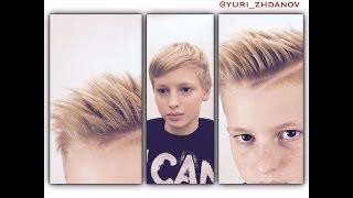 Детская стрижка с пробором, от Юрия Жданов(Детская стрижка с пробором., 2016-10-01T15:40:27.000Z)
