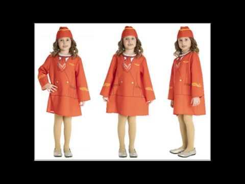 Костюм стюардессы для девочки своими руками