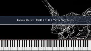 Gundam Unicorn  PIANO UCNO.3 Piano Cover TUTORIAL