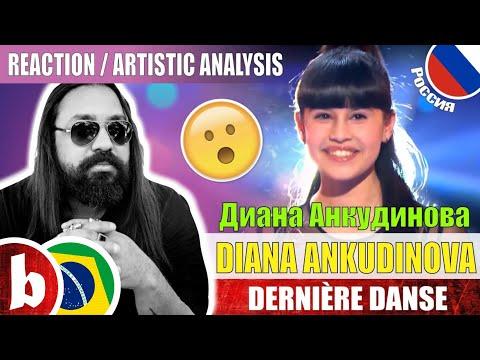 DIANA ANKUDINOVA Диана Анкудинова! Dernière Danse - Reaction Reação & Artistic Analysis (SUBS)