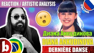 Download DIANA ANKUDINOVA Диана Анкудинова! Dernière Danse - Reaction Reação & Artistic Analysis (SUBS) Mp3 and Videos