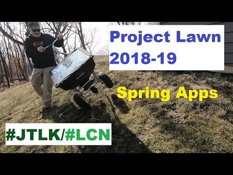 JTLK/LCN Project Lawn 2019: Spring Clean up & Applications