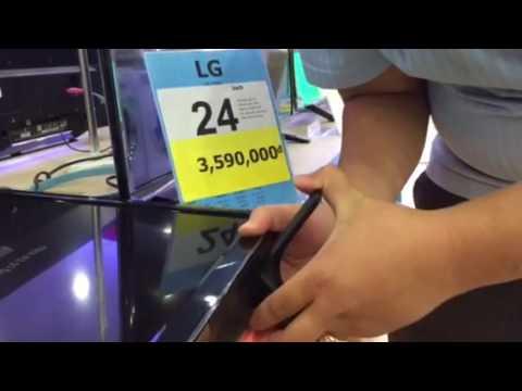 Tháo chân bàn Tivi Led LG 24LF450D