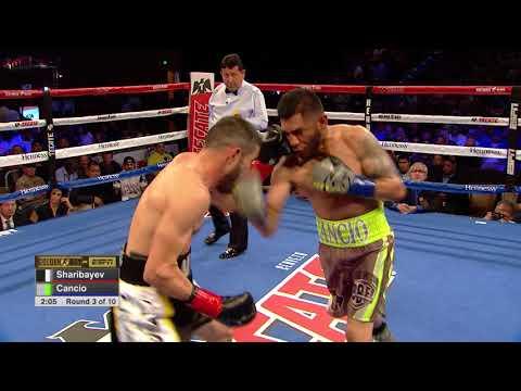 """#GBPonESPN Andrew """"El Chango"""" Cancio vs Aidar Sharibayev"""