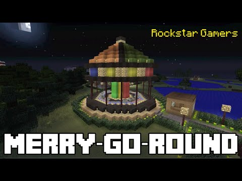Minecraft CarouselMerry Go Round YouTube