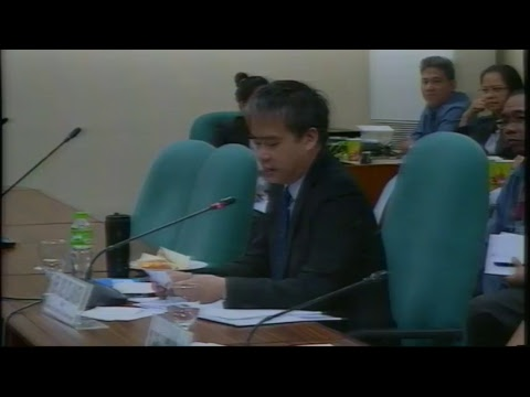 Committee on Labor, Employment and Human Resources Development  (January 24, 2018)