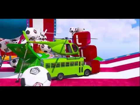 Kartun Mobil Anak Belajar Mengenal Warna Seru 4