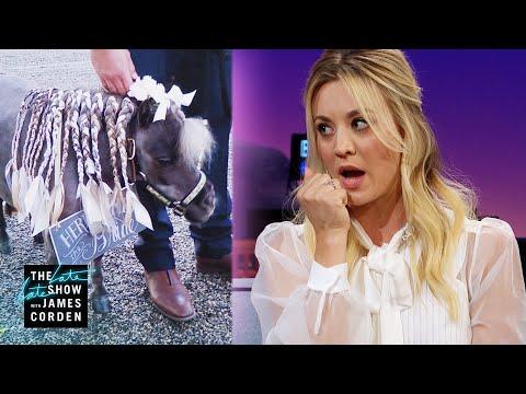 Kaley Cuoco's Pony Had Cold Feet at Her Wedding