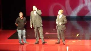 Opening Act for the Penn & Teller Show at the Rio in Las Vegas July 2nd of 2013