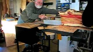 Manitoba Maple Resaw (elemental Design Group).avi