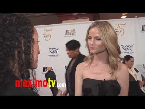 LINDSAY PULSIPHER  at 25th Annual GENESIS AWARDS