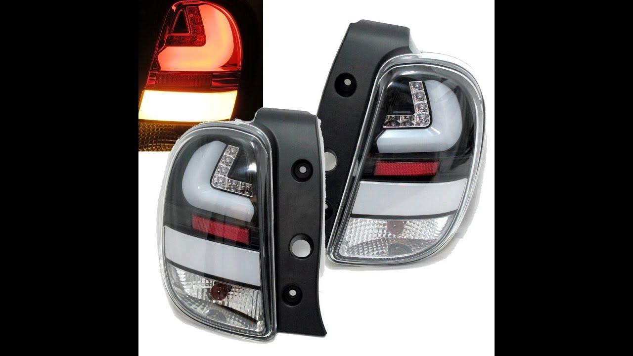 Nissan March Tuning >> CrazyTheGod Micra/March K13 MK4 2010-present Hatchback LED Tail Rear Light Black for NISSAN ...